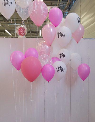 Fotowand zur Hochzeit Latexballons 30 und 40cm in druck und uni