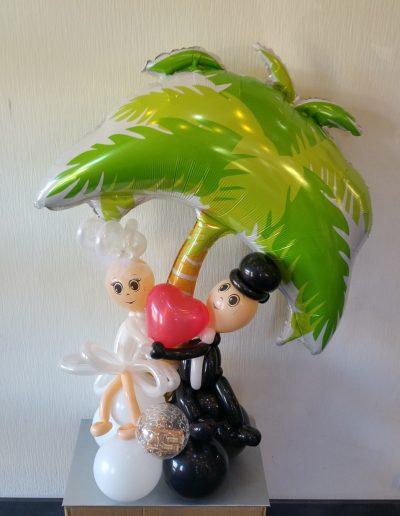 BrautPaar unter einer Palme 45€ in Folie