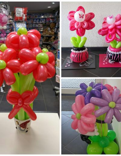 Blumen als  Bukette diverse, hier ab 21,50€ bis 25€