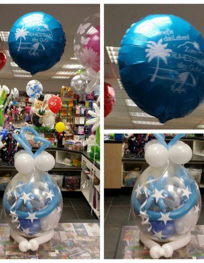 Ballonverpackung  mit Geld 25€