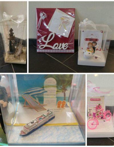 Mottoboxen, Plattenverpackung / Tablett Verpackung