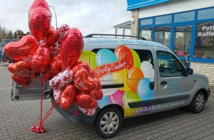 Partyzauber Luftballonshop in Rheine