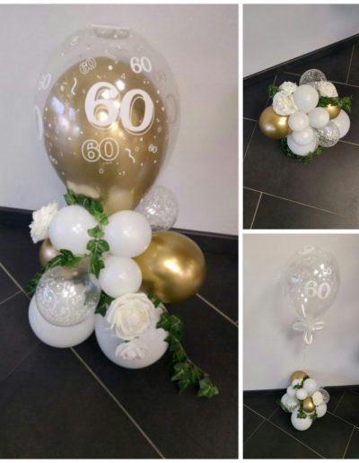Geschenk mit Kunstblumen 25€
