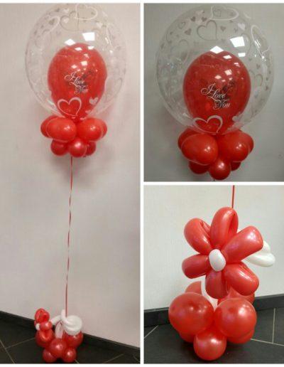Bubble Ballon, hält 4 Wochen. Gesamt 32€