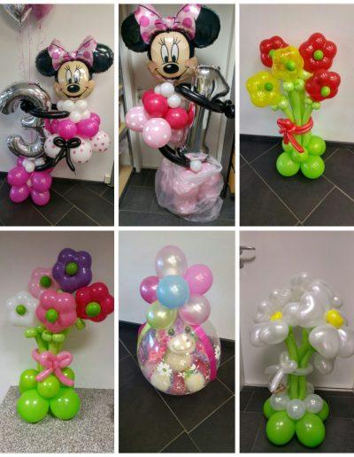 Ballon Figuren, Ballonverpackung, BV, Geld im Ballon, Ballon Figuren