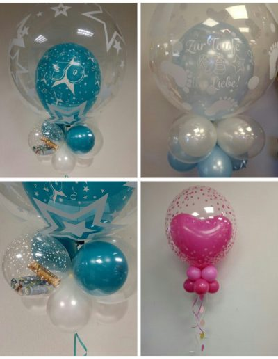 Dekobubbles diverse,  25€-28€ je Ballon
