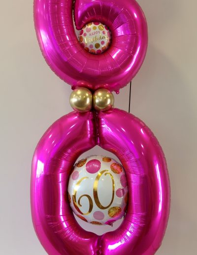BallonSäule 45€, 2 Metr hoch