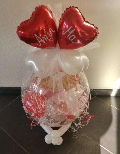 BallonVerpackung fürs Geld 28€ ohne Inhalt und Schrift