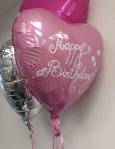 Persönnliche Aufschriften auf Folienballons 5€  je Seite