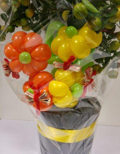 BallonBlumen als Geschenk Zierde. 2€ pro Blume