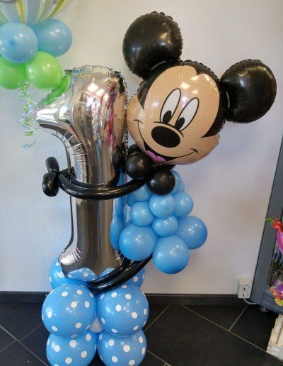 BallonFigur mit jeder Zahl machbar, 45€ plus DekoBubble daoben