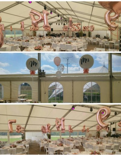 Partydeko mit Riesenballons
