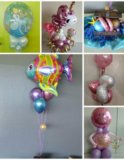 Folienballons als Geschenk