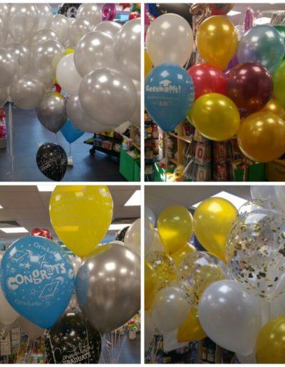 LatexBallons mit Helium befüllt