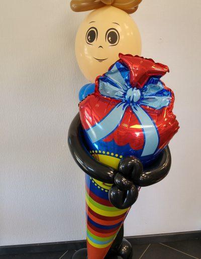 Ballonfigur zur Einschulung 1,3m.28€