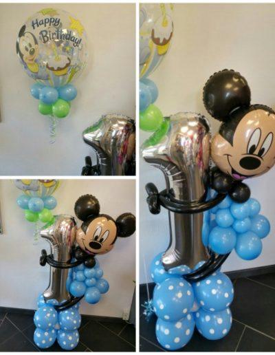 Ballonfiguren zu einem Motto