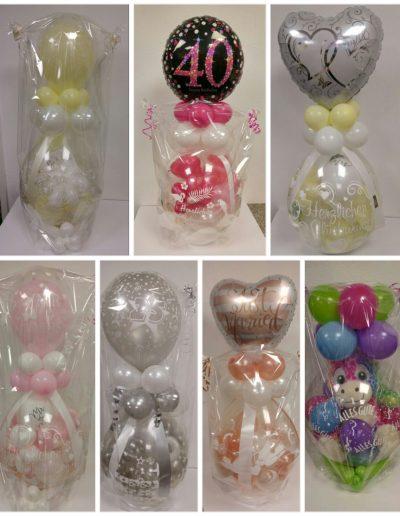 BallonVerpackung, Geldgeschenke zu einem Motto, 25€ je Ballon, ohne Kuschelfigur & Karten