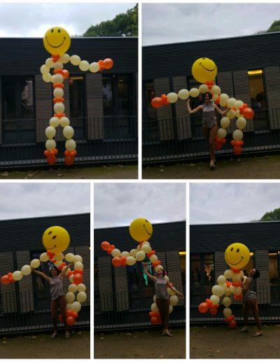 Wind und Wetter Ballonfigur, 3meter hoch 95€