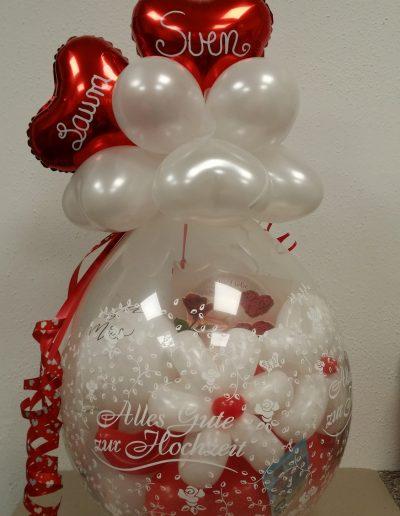 BallonVerpackung, Geldgeschenke zu einem Motto, 34€ je Ballon, ohne Karten