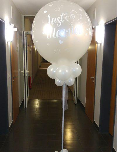 BallonSäule 45€, plus 10€ Pfand für die BallonSäule